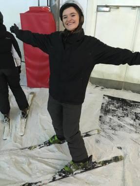 Ready to ski!